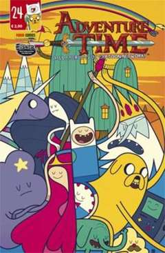 Copertina ADVENTURE TIME n.24 - PANINI TIME 24, PANINI COMICS