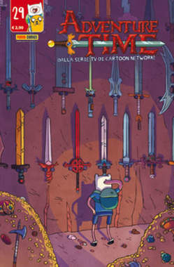 Copertina ADVENTURE TIME n.29 - PANINI TIME 29, PANINI COMICS