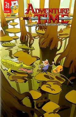 Copertina ADVENTURE TIME n.31 - PANINI TIME 31, PANINI COMICS