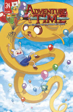 Copertina ADVENTURE TIME n.34 - PANINI TIME 34, PANINI COMICS