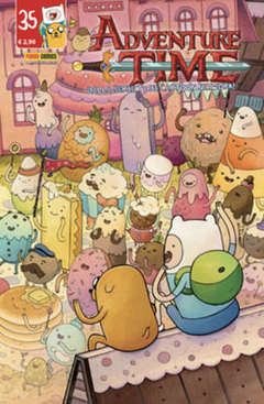 Copertina ADVENTURE TIME n.35 - PANINI TIME 35, PANINI COMICS