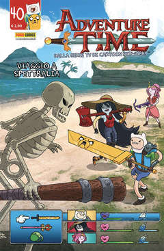 Copertina ADVENTURE TIME n.40 - PANINI TIME 40, PANINI COMICS
