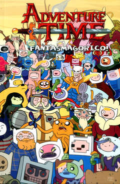 Copertina ADVENTURE TIME COLLECTION n.11 - FANTASMAGORICO!, PANINI COMICS
