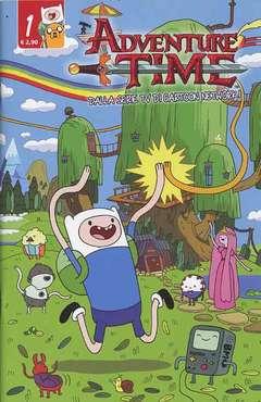 Copertina ADVENTURE TIME n.1 - PANINI TIME 1, PANINI COMICS