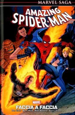Copertina AMAZING SPIDER-MAN MARVEL SAGA n.8 - FACCIA A FACCIA, PANINI COMICS