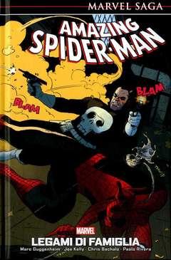 Copertina AMAZING SPIDER-MAN MARVEL SAGA n.5 - LEGAMI DI FAMIGLIA, PANINI COMICS