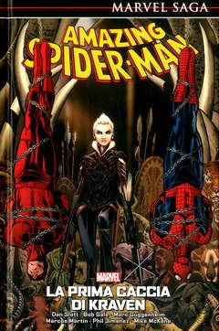 Copertina AMAZING SPIDER-MAN MARVEL SAGA n.3 - LA PRIMA CACCIA DI KRAVEN, PANINI COMICS