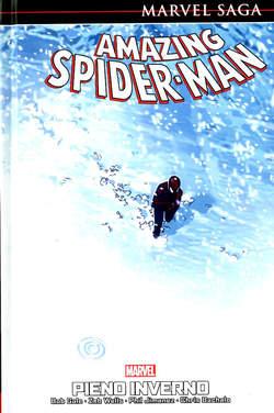 Copertina AMAZING SPIDER-MAN MARVEL SAGA n.2 - PIENO INVERNO, PANINI COMICS