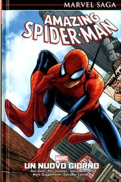 Copertina AMAZING SPIDER-MAN MARVEL SAGA n.1 - UN NUOVO GIORNO, PANINI COMICS
