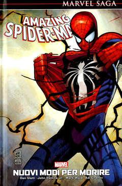 Copertina AMAZING SPIDER-MAN MARVEL SAGA n.4 - NUOVI MODI PER MORIRE, PANINI COMICS