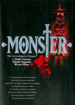 Copertina ANOTHER MONSTER Ristampa n. - ANOTHER MONSTER - Romanzo, PANINI COMICS