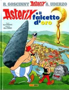 Copertina ASTERIX (1/35) Ristampa n.2 - ASTERIX E IL FALCETTO D'ORO, PANINI COMICS