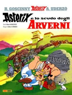 Copertina ASTERIX COLLECTION n.14 - ASTERIX E LO SCUDO DEGLI ARVERNI, PANINI COMICS