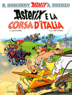 Copertina ASTERIX COLLECTION n.1 - ASTERIX E LA CORSA D'ITALIA, PANINI COMICS