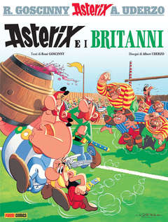 Copertina ASTERIX Spillato n.8 - ASTERIX E I BRITANNI, PANINI COMICS