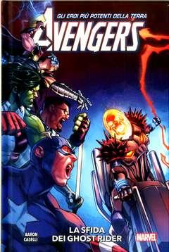 Copertina AVENGERS Volume Nuova Serie n.5 - LA SFIDA DEI GHOST RAIDER (Avengers 2018 22/25), PANINI COMICS