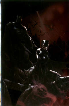 Copertina BATMAN/CATWOMAN #1 Variant n. - BATMAN/CATWOMAN #1 Variant Metal, PANINI COMICS