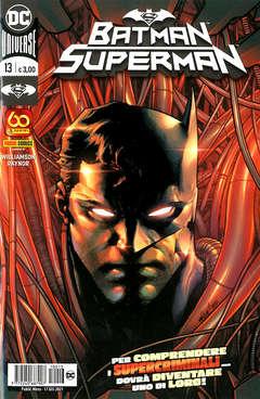 Copertina BATMAN/SUPERMAN n.13 - BATMAN/SUPERMAN, PANINI COMICS