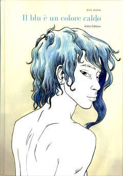 Copertina BLU E' UN COLORE CALDO Art.Ed. n. - IL BLU E' UN COLORE CALDO - Artist Edition, PANINI COMICS