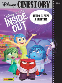 Copertina CINESTORY n.1 - INSIDE OUT , PANINI COMICS