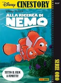 Copertina CINESTORY ORO n.3 - ALLA RICERCA DI NEMO, PANINI COMICS