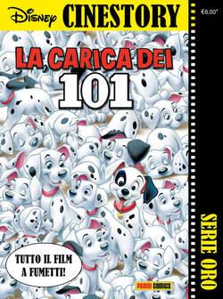 Copertina CINESTORY ORO n.1 - LA CARICA DEI 101, PANINI COMICS