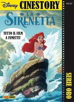 Copertina CINESTORY ORO n.4 - LA SIRENETTA, PANINI COMICS