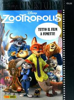 Copertina CINESTORY n.5 - ZOOTROPOLIS, PANINI COMICS