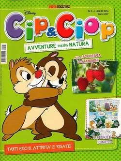 Copertina CIP & CIOP n.2 - CIP & CIOP, PANINI COMICS