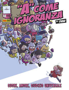 Copertina A COME IGNORANZA n.14 - A COME IGNORANZA, PANINI COMICS