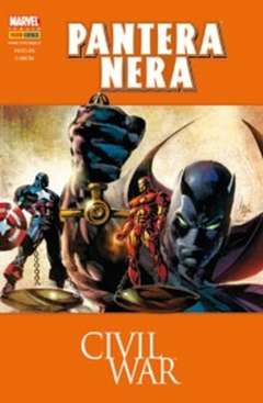 Copertina COMICS USA n.21 - PANTERA NERA: CIVIL WAR, PANINI COMICS