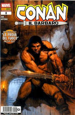Copertina CONAN IL BARBARO Nuova Serie n.8 - CONAN IL BARBARO, PANINI COMICS