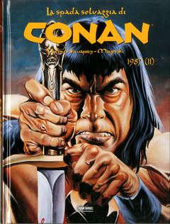 Copertina CONAN LA SPADA SELVAGGIA n.24 - 1987 (Parte II), PANINI COMICS