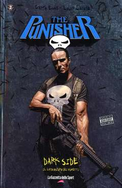Copertina DARK SIDE OF COMICS n.2 - PUNISHER IN PRINCIPIO, PANINI COMICS