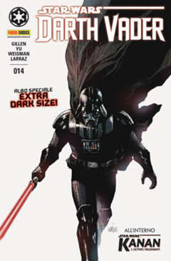 Copertina DARTH VADER n.14 - PANINI DARK 14, PANINI COMICS