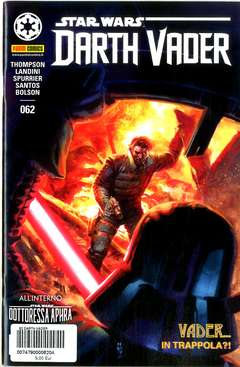 Copertina DARTH VADER n.62 - PANINI DARK 62, PANINI COMICS