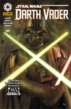Copertina DARTH VADER n.5 - PANINI DARK 5 - Cover A, PANINI COMICS