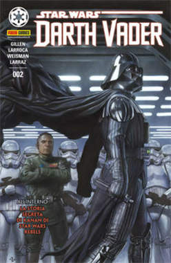 Copertina DARTH VADER n.2 - PANINI DARK 2 - Cover A, PANINI COMICS