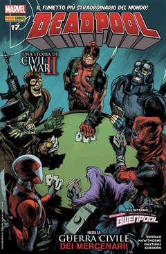 Copertina DEADPOOL serie n.76 - CIVIL WAR II, PANINI COMICS