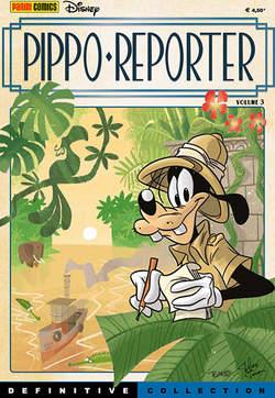Copertina DEFINITIVE COLLECTION n.10 - PIPPO REPORTER 3, PANINI COMICS