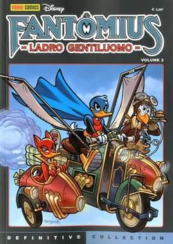 Copertina DEFINITIVE COLLECTION n.5 - FANTOMIUS LADRO GENTILUOMO 2, PANINI COMICS
