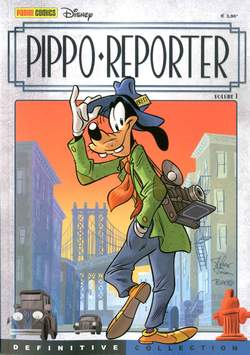 Copertina DEFINITIVE COLLECTION n.3 - PIPPO REPORTER 1, PANINI COMICS