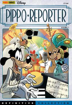 Copertina DEFINITIVE COLLECTION n.7 - PIPPO REPORTER 2, PANINI COMICS
