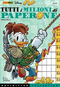 Copertina DEFINITIVE COLLECTION n.4 - TUTTI I MILIONI DI PAPERONE 1, PANINI COMICS