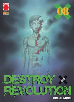 Copertina DESTROY AND REVOLUTION n.8 - DESTROY AND REVOLUTION, PANINI COMICS