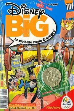 Copertina DISNEY BIG n.101 - DISNEY BIG con medaglia, PANINI COMICS