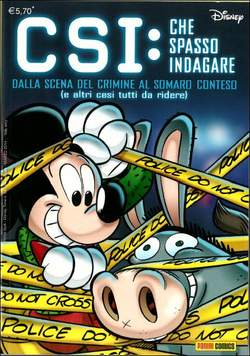 Copertina DISNEY TIME n.64 - CSI: CHE SPASSO INDAGARE, PANINI COMICS