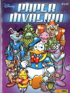 Copertina DISNEY TIME n.67 - PAPER INVASION, PANINI COMICS