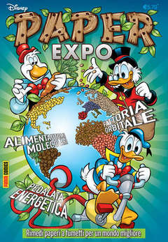 Copertina DISNEY TIME n.68 - PAPER EXPO, PANINI COMICS