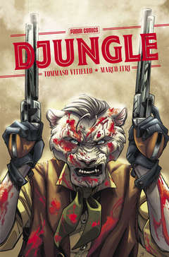 Copertina DJUNGLE n. - DJUNGLE, PANINI COMICS